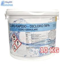 CLORO 10 kg GRANULARE RAPIDO MARIS CLORAZIONE PISCINE SECCHIO