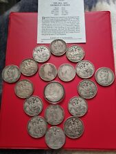 More details for 500g sterling silver coins crown collection william iii george iii to victoria