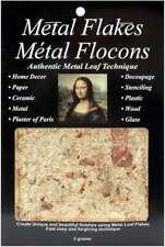 Mona Lisa Metal Leaf Flakes 3g Variegated Gold 081093100129