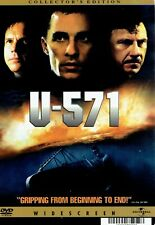 U-571 BACKER CARD  ( NOT A DVD ) MINI POSTER
