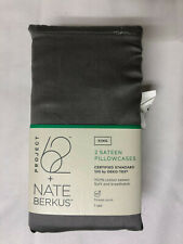 Project 62 & Nate Berkus Sateen PIGEON GRAY King Size Pillowcase Set