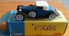 century of cars diecast cord l29 boxed. Corgi solido