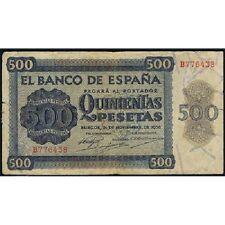 ESPAÑA SPAIN 500 PESETAS - BURGOS 1936 - MBC VF