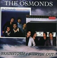 The Osmonds - Brainstorm / Steppin Out [CD]