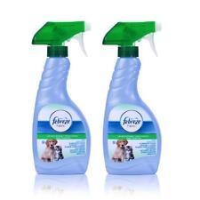2x Febreze Textilerfrischer gegen Tiergerüche 500 ml mit synthetisches Parfüm