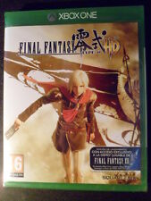 Final Fantasy Type-0 HD Nuevo Xbox One PAL España Playable in english.
