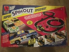 Life-Like HO Scale Super Spinout Speedway Set Track and 1 Car !!!