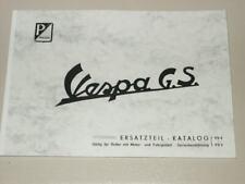 Ersatzteilkatalog Vespa GS 150 /  GS/3