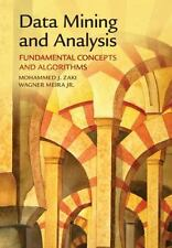 Data Mining And Analysis: Fundamental Concepts And Algorithms: By Mohammed J....
