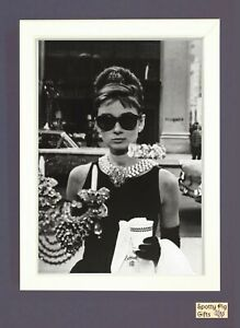 Audrey Hepburn Print Wall Art A3 A4 Picture Poster Breakfast at Tiffany's Film