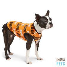 Martha Stewart Dog Halloween Boo tee-shirt-Small - SALE BENEFITS RESCUE CHARITY