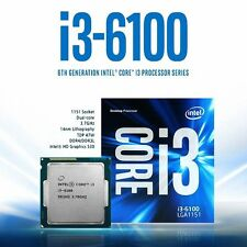 Intel Core i3 6100 - 3.7GHz Dual Core Socket 1151 Processor Retail Box with Fan