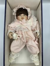 Rare Limited Edition #70 Sabrina Porcelain Dolls By Pauline 1988 In Box W/ Tag