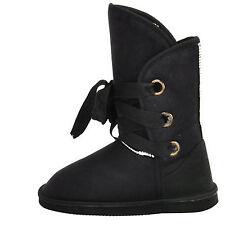 Winter Womens Bowknot Mid-calf Snow Boots Plush Warm Slip On Fur Shoes