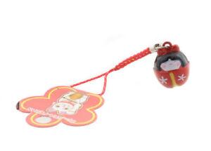 Bijou de portable charms poupee kokeshi japonaise grelot clochette 6734