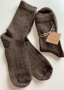 100% Mongolian Sheep Wool Socks