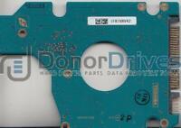 MK1234GSX, A0/AH002E, HDD2D31 M ZK02 T, G5B001590000-A, Toshiba SATA 2.5 PCB