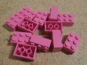 Lego Vidiyo bandmates 12 x Dark Pink Brick 2 x 3 NEW
