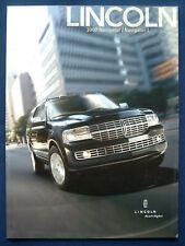 Prospekt brochure 2007 Lincoln Navigator (USA)