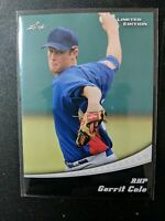 2011 Leaf Limited Edition #19 Gerrit Cole - Pirates/Yankees Rookie RC FREE SHIP!