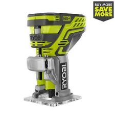 RYOBI Fixed Base Trim Router 18V Cordless Tool Free Depth Adjustment (Tool Only)