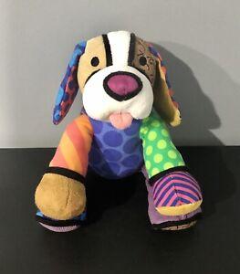 BRITTO Popplush Pablo dog 16cm Plush Pop Art by Enesco