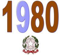 ITALIA Repubblica 1980 Spezzoni serie francobolli MNH ** Scegli