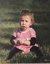 Custom Portraits by John Dusko oil painting on panel 16 x 20