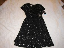 David Warren New York Dress with Tie Belt - Size 8P - New with Tags