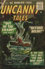 UNCANNY TALES #44 (1956) VG+ 4.5   ATLAS  DICK AYERS!  JOHN FORTE!