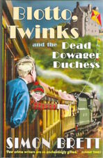 BLOTTO TWINKS AND THE DEAD DOWAGER DUCHESS Simon Brett Brand New! paperback 2011