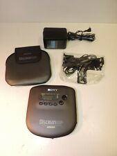 "Sony Discman D-335 Portable CD Player ""Discman ESP"" Tested Working Good"