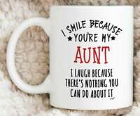 Aunt Gifts Aunt Mug Best Aunt Gift Aunt Birthday Gift Aunt Coffee Mug Funny Aunt