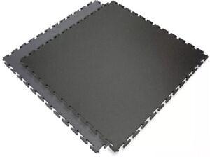 1 M2 Of Pvc Interlocking Garage Floor Tiles - 10 Year Warranty Garage Style Ltd