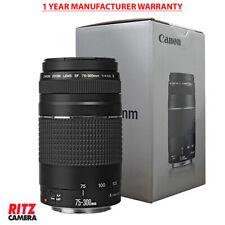 Open Box Canon EF 75-300mm f/4-5.6 III Telephoto Zoom Lens for Canon SLR Cameras