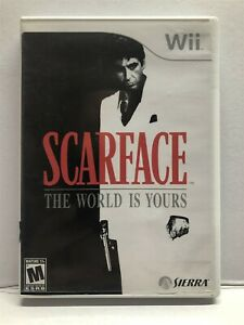 Scarface: The World is Yours (Nintendo Wii) Complete w/ Manual - Tested Working