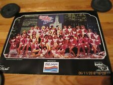 RARE VTG CIRCA 1983 CHICAGO BLITZ BABES FOOTBALL CHEERLEADERS USFL POSTER