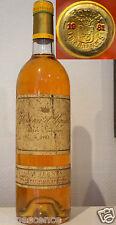 vin Chateau d' YQUEM 1981 Bordeaux Sauternes bouteille 75cl 90/100 parker wine
