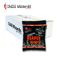 Carolina Reaper Chilli Peanuts - Hot as Hell Peanuts Wholesale Case 24 x 80g