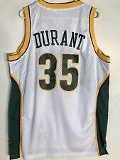 Adidas Swingman NBA Jersey Seattle Supersonics Kevin Durant White HWC sz M