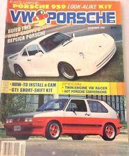 VW & Porsche Magazine GTI Short Shift KIT December 1985 073117nonrh