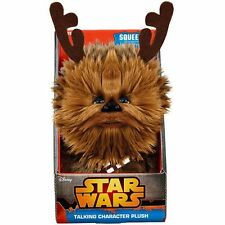 """Chewbacca de Star Wars 8"""" Habla Con Peluche Cornamentas NUEVO EN CAJA"""