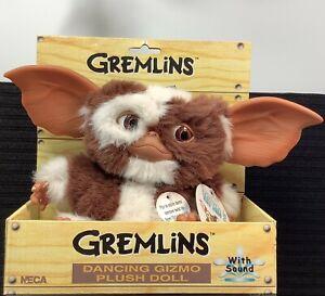 Gremlins Dancing Gizmo Plush Doll 2004 NOS In Box Neca Works FRESH BATTERIES INC