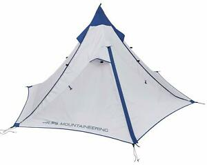ALPS Mountaineering Trail Tipi 2-Person Tent Gray/Navy