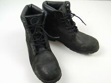 Timberland 6305R Men's Black 6 Inch Ankle Mid Lace Up Leather Boots Size 11