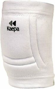 Kaepa Volleyball Sports Knee Pads 2107 Protection white with Black logo