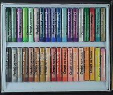 Pentel Oil Pastels, 2 sets, 36 & 12 Colors