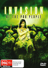 INVASION OF THE POD PEOPLE - ALIEN INVADERS HORROR DVD