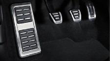 Genuine Audi A4 & A5 B9 Aluminium Pedalüberzüge + Fußrasten für RHD & Manual