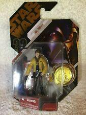 Canadian Variant STAR WAR Luke Skywalker w/ Coin MOC Hasbro RARE Limited